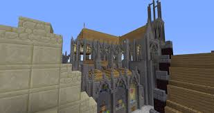 flying buttresses under construction minecraft