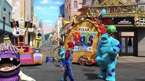 disneyland monsters parade mov