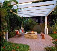 backyard pergola fire pit pergola gazebos