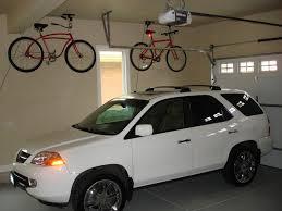 garage bike storage and ways to secure your bike garage designs
