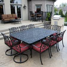 Cast Aluminum Patio Tables Cast Aluminum Patio Furniture Family Leisure