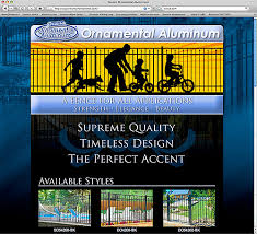 eastern fence ornamental fence products
