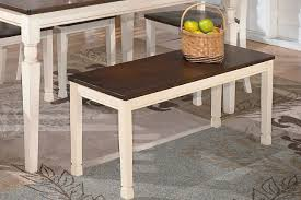 Dining Room Bench Whitesburg Dining Room Bench Furniture Homestore
