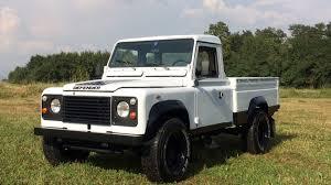range rover defender pickup 1986 land rover defender 110 pickup s96 anaheim 2016