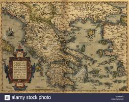 Map Of Greece by 1570 Map Of Greece Then Under The Rule Of The Ottoman Empire