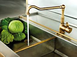 Brass Kitchen Faucet Blog Perrin U Rowe X Hm We Love The New - Brass kitchen sinks