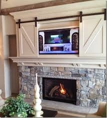 Diy Fireplace Cover Up Best 25 Hide Tv Over Fireplace Ideas On Pinterest Tv Over