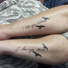 awesome matching tattoos to your