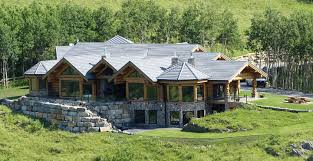 handcrafted pine and cedar log home manufacturer canadian and us