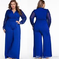 plus size jumpsuit plus size black patchwork lace rompers jumpsuit v