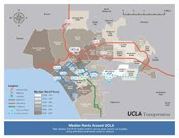 Ucla Parking Map New To Ucla Here Are Some Transit Friendly Neighborhoods