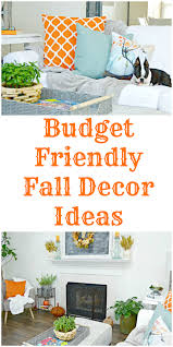 Budget Friendly Fall Home Decor Ideas Mom 4 Real