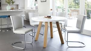 White Dining Table With Black Chairs Beautiful White Dining Table 4 Legs Contemporary