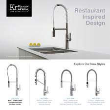 Restaurant Style Kitchen Faucet Kitchen Faucet Kraususa Com