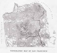 Map Of San Francisco by San Francisco Topographic Map