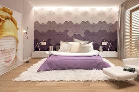 wandgestaltung schlafzimmer lila wohnidee für moderne wandgestaltung schlafzimmer mit 3d paneelen