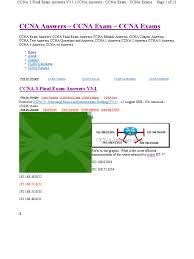 ccnaanswers com ccna 3 final exam answers v3 1 computer network