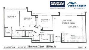 World Floor Plans Plan F Rossmoor Towers Floor Plan 24055 Paseo Del Lago Laguna