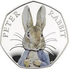 peter rabbit feature 50p coin mark beatrix potter