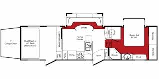 fuzion toy hauler floor plans 2010 keystone fuzion 302 trailer reviews prices and specs rv guide