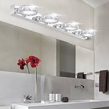 round bathroom light fixtures extraordinary led bathroom vanity light fixtures modern k9 led