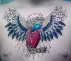 unbeatable chest tattoos for