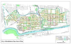 Maps Of Pa City Of Bethlehem