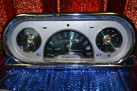 Vintage Ford Truck Gauges - instrument services inc specializing in automotive clock and