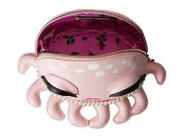 Kitch by Betsey Johnson Kitch Octopus Cosmetic In Pink Lyst