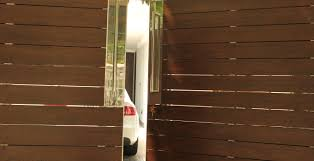 front gate metal and wooden partition gates wall designs in delhi