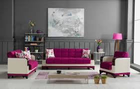 Burgundy Living Room by Almira Golf Burgundy Convertible Sofa Bed By Casamode