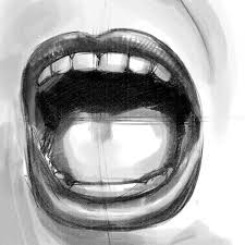 how to draw an open mouth u2013 techcomix com