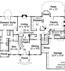2 Story 4 Bedroom House Floor Plans Plans Plan55 116 On House Plans 4 Bedroom 2 Story Circular Stair