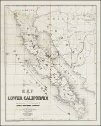 Cal Map Map Of Lower California From Special Surveys Of Coast U0026 Interior