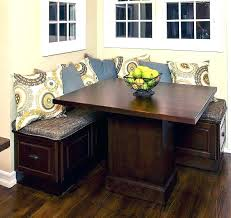 kitchen tables for small spaces corner kitchen table with storage bench corner storage bench nice