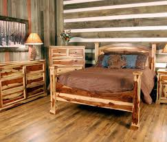furniture stunning rustic wood bedroom furniture wonderful