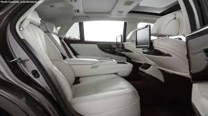 lexus ls kiriko glass the lexus 2018 ls500 u0027s interior is beyond impressive clublexus