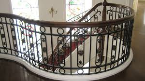 Wrought Iron Railings Interior Stairs Home Old Dutchman U0027s Wrought Iron Inc