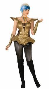 halloween corset futuristic gold corset outer space for retro womens halloween