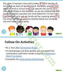 contractions powerpoint teaching resource u2013 teach starter