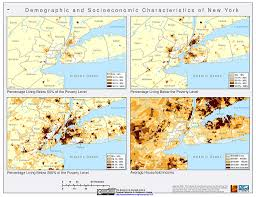 New York City Area Map by Urbanization And Human Settlements Sedac