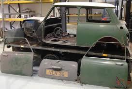 mini cooper 998cc barn find restoration classic car