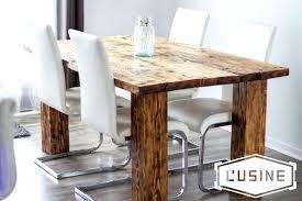 modele de cuisine rustique modele de table de cuisine en bois modele de table de cuisine en