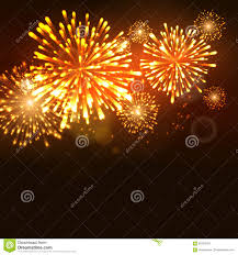 firework new year holiday celebration template vector firework