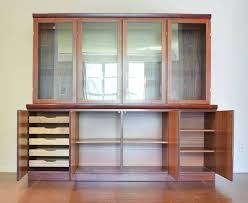 rosewood china cabinet for sale large skovby rosewood display cabinet sale at 1stdibs