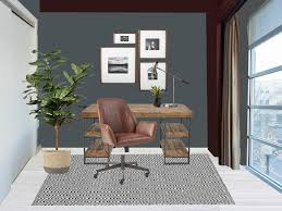 studio office design modern industrial tuft u0026 trim