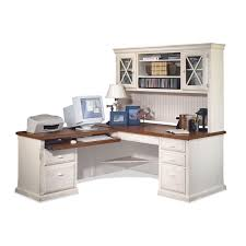 Office Desk With Hutch Storage Furniture White Corner Desk With Hutch Storage Ideas