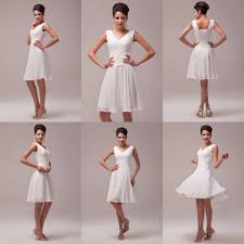 short cocktail dress wedding evening casual formal party