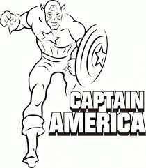 marvel super heroes coloring pages superhero page print free