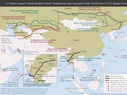 Map China This Map Shows China U0027s Global Energy Ties Business Insider